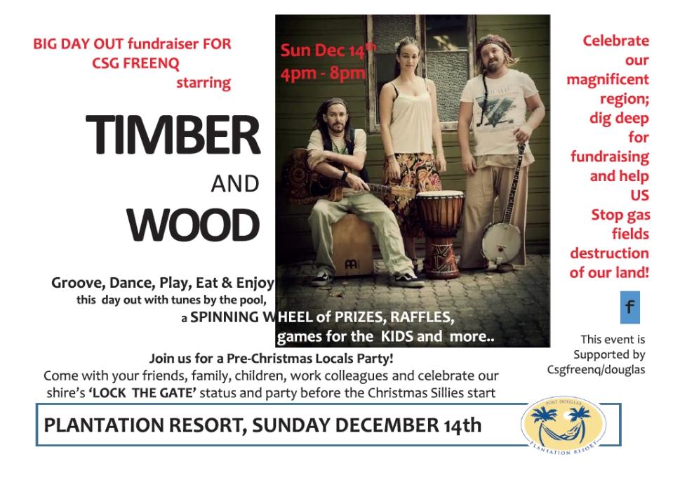 Poster for Plantation event